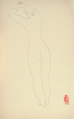 nude 裸女 by sanyu