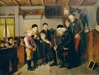 schulstunde by l. lauritzen