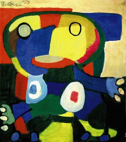 le grand chef cobra by karel appel