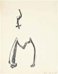 initiale m by max ernst