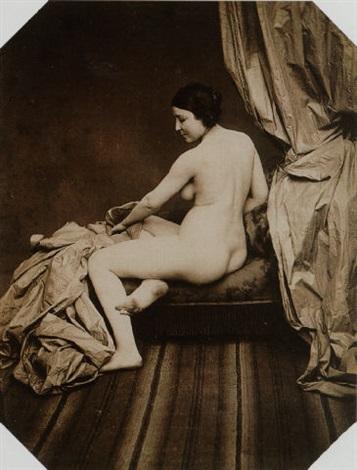 quatre études de nus by joseph auguste belloc