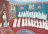 arise for her majesty and corgis by fred yates