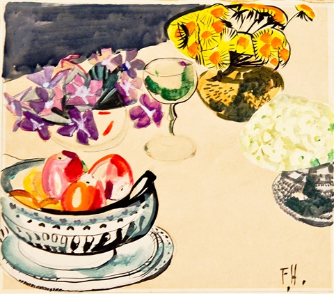 still life composition by frances mary hodgkins