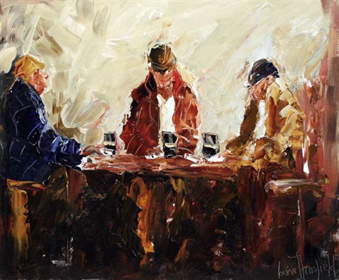 a pint in dinny's by louise mansfield