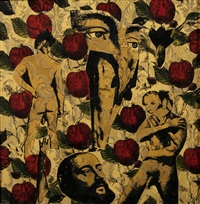 nudes and roses by steven cohen