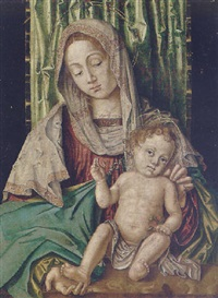 the madonna and child by francesco zaganelli