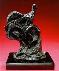 cheval et chevalier by raymond duchamp-villon
