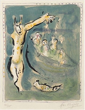 aischylosearth of gods and goddess by marc chagall