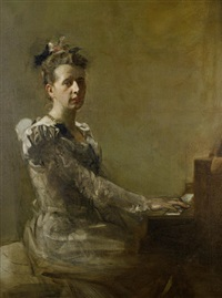 miss isabella h. gardiner by james guthrie