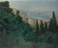 le port d'alger by jean eugène bersier