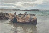 loading the stooks by william henry bartlett