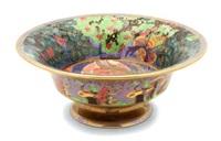a wedgwood fairyland lustre daventry bowl by wedgwood