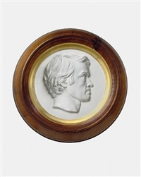 portrait of thomas carlyle by thomas woolner