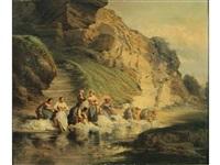 les lavandières by léonard saurfelt