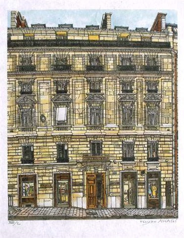 façade parisienne by kojiko akagi