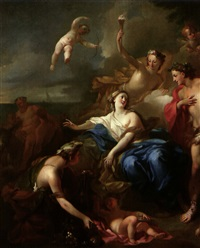 bacchus et ariane by pierre-jacques cazes