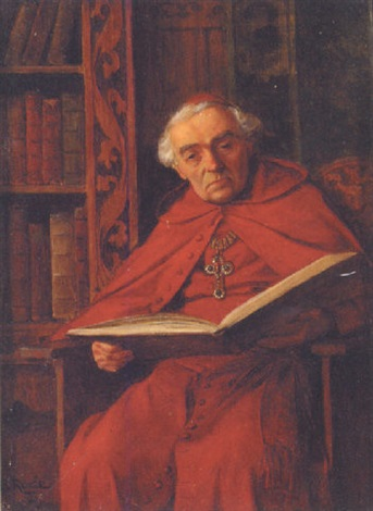 a cardinal reading by edmund adler