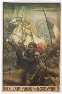 journée de l'armée d'afrique et des troupes coloniales by dominique charles fouqueray