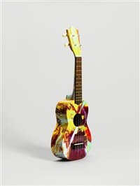 spin ukulele for the idler by damien hirst