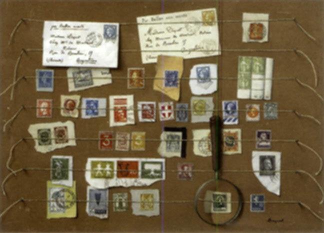 la collection de timbre trompe loeil by alain dequet