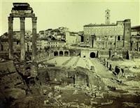 roma. foro romano by edmondo behles