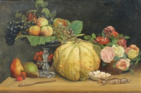 still life of fruit by joseph lemmens