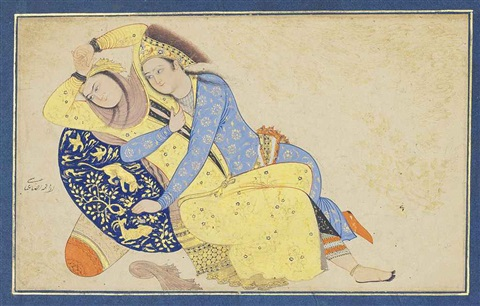 a loving couple by anonymous iranian 17