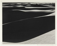 sand dunes, oceano, california (black dunes) by edward weston