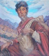hombre con alforja by maria ireneo anganuzzi