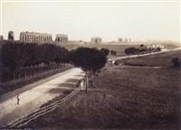 acqueduc, rome by gioacchino altobelli