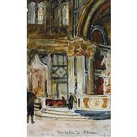 baptistère de florence by albert anker