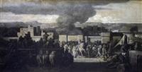 prise de rome par les gaulois (+ les légions romaines; pair) by françois nicolas chifflart