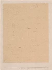 (zeichnung ii zu 1922/42) 1922 by paul klee