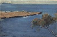 coastal scene, nsw by tom roberts