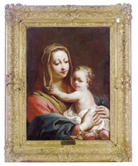 the madonna and child by giovanni battista crosato