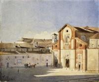 piazza san marco, milano by antonio bignoli