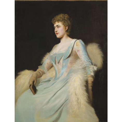 portrait of a lady by edmund charles tarbell