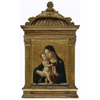 madonna and child by romano antoniazzo