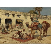 caravan at rest by giuseppe gabani