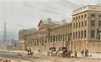 vintner's hall and st. luke's, old street, london by thomas hosmer shepherd