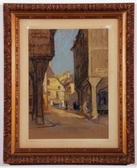 street scene, brittany by leonard richmond