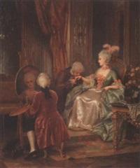 elegant company by hermann vogler