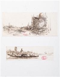 Palais vénitien - Gondole à Venise (2 works)