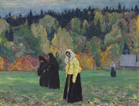 a quiet life by mikhail vasilievich nesterov