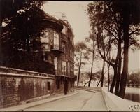 hôtel lambert, quai d'anjou, paris by eugène atget