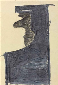 untitled (abstract profile) by rabindranath tagore