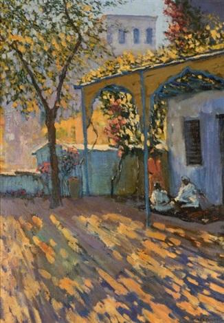 Patio Marocain By Mariano Bertuchi On Artnet