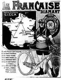 la francaise diamant by posters: sports - cycling