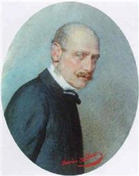 portrait des malers august von pettenkofen by marie müller