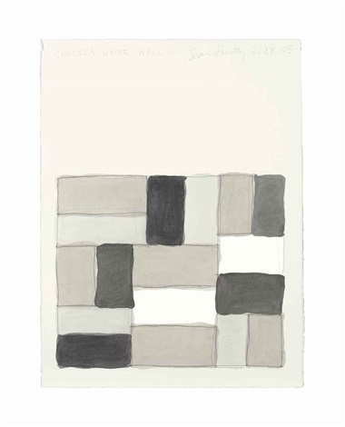 chelsea white wall by sean scully